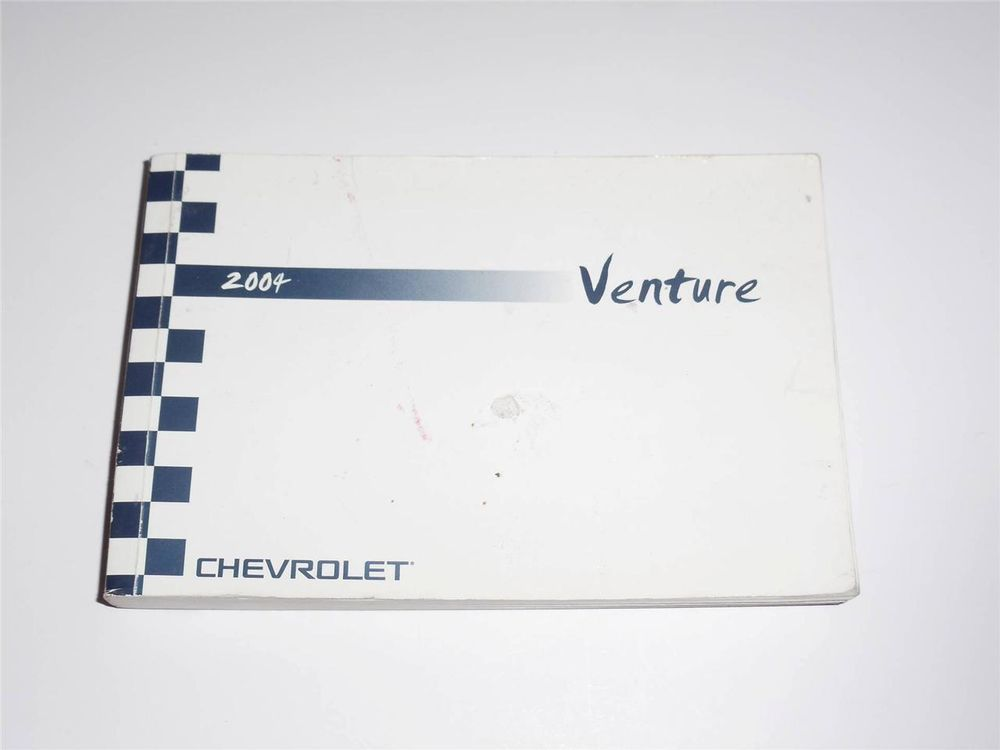 2004 chevrolet venture owners manual book owners manuals rh pinterest com chevy venture owners manual 2003 chevrolet venture owners manual