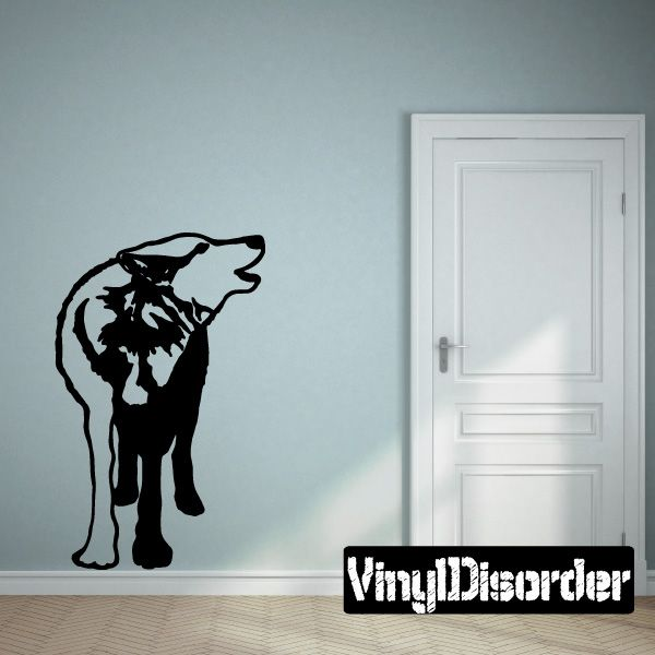 Wolf Wolves Wall Decal - Vinyl Decal - Car Decal - 065