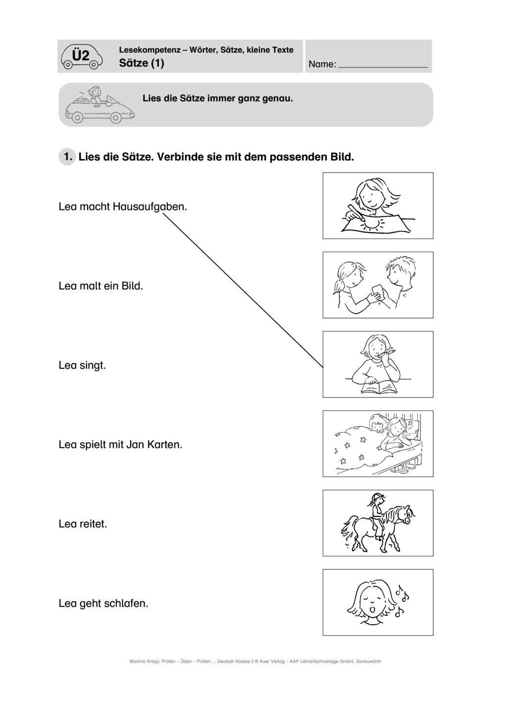 20 Grundschule – Lesekompetenz   meinUnterricht Ideen ...