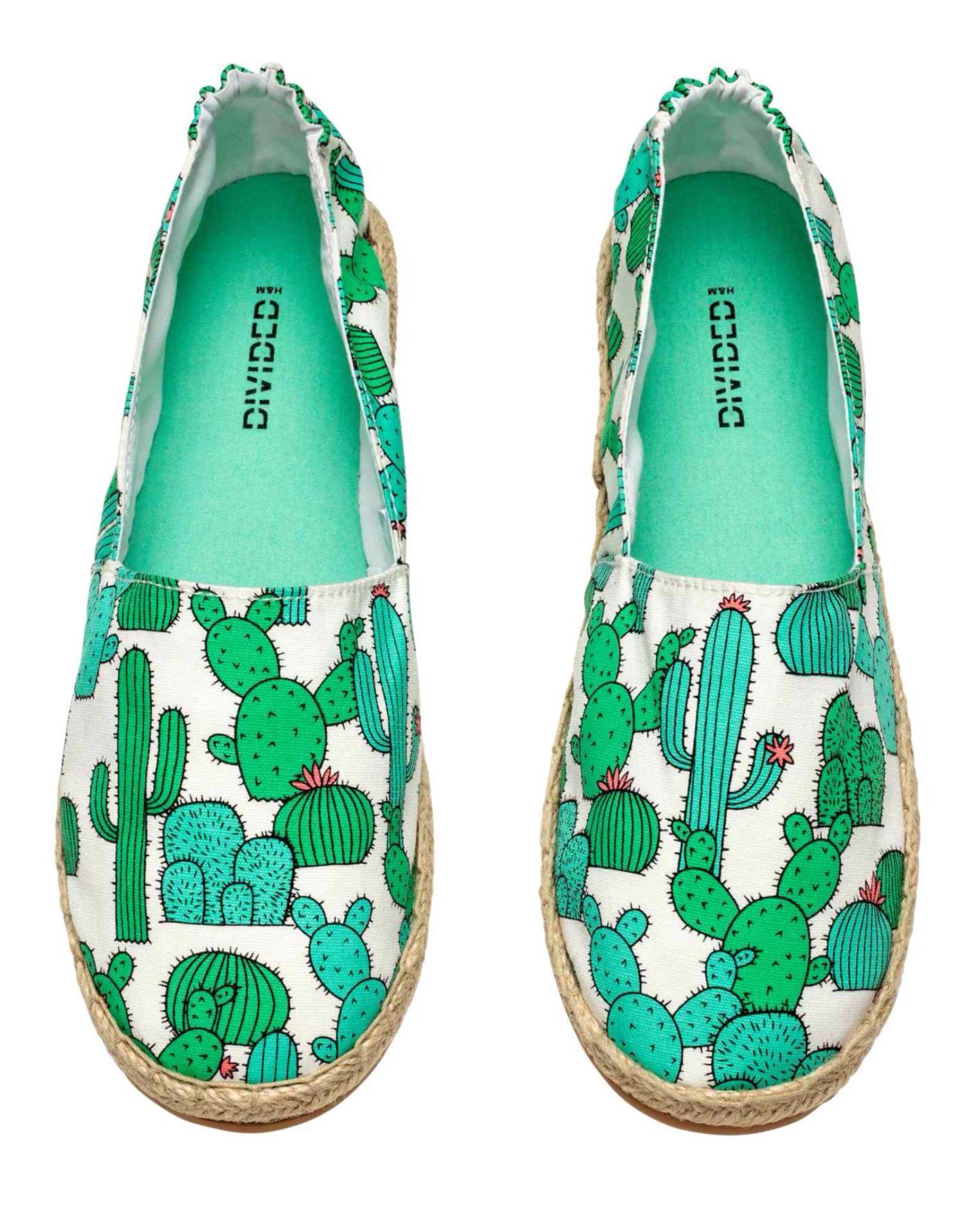 Y estas alpargatas de cactus son lo más!! H&M | Lo quiero en