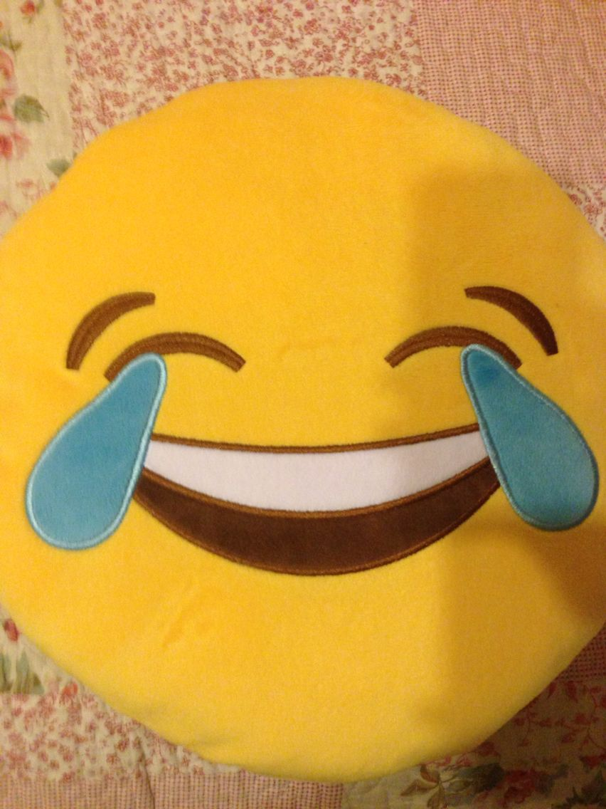 Crying laughing emoji pillow my pinterest likes pinterest