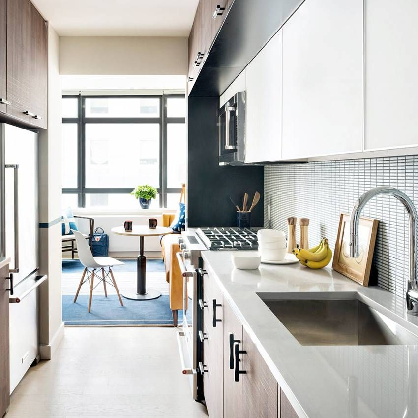 27 Space Saving Design Ideas For Small Kitchens: 25 Absolutely Beautiful Small Kitchens That Prove Size