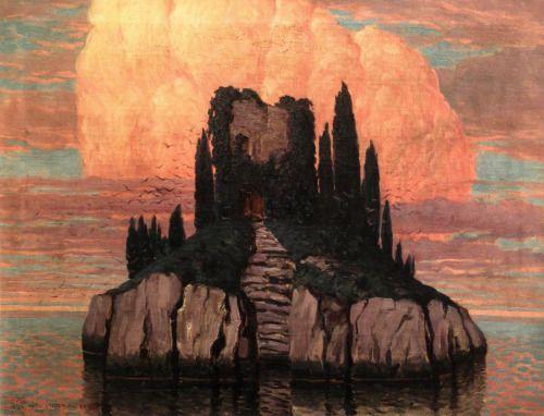 Teodoro Wolf Ferrari; A Mysterious Island. 1917