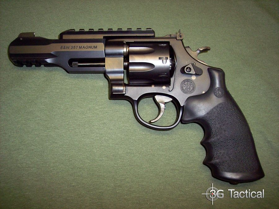 We just got in a Smith & Wesson Performance Center M R8  357 Magnum