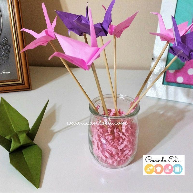 173 Mejores Imágenes De Grullas Grullas Origami Grullas