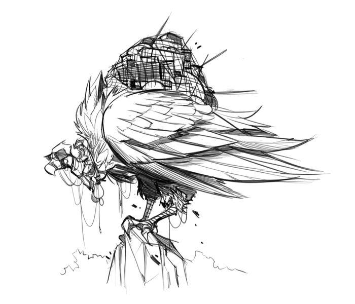 Vulture Transport by *frogbillgo on deviantART