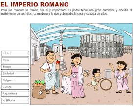 Los Romanos En La Peninsula Imperio Romano Roma Para Ninos Romanos