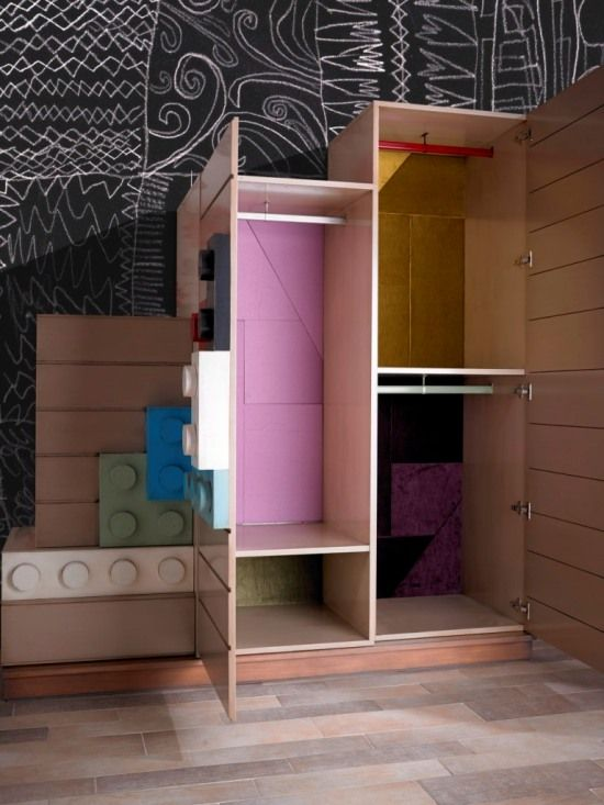 Kids Bedroom Furniture in Lego Style | Read Me Today | architecture ...