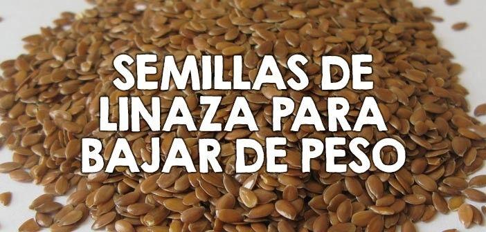 Recetas con semillas de lino para adelgazar