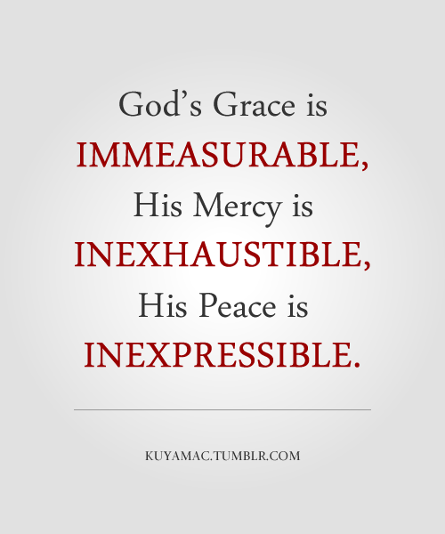 Gods Grace Quotes: God's Grace, Mercy, And Peace