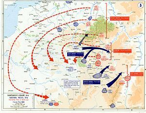 schlieffen plan map plan drawn up by schlieffen showing german war strategy in ww1 this showed germany making the quickest attacks on their enemies by