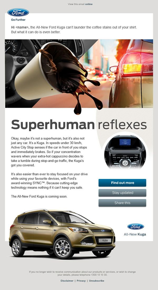 Ford Kuga Edms On Behance Ford Kuga Ford Ford Go Further