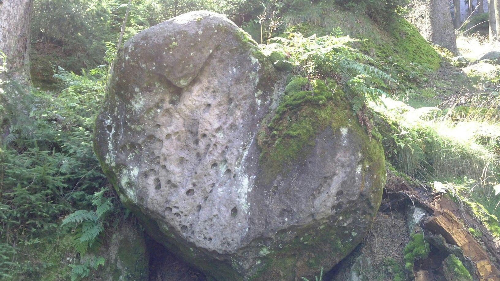 Herz aus Stein in der Sächsischen Schweiz
