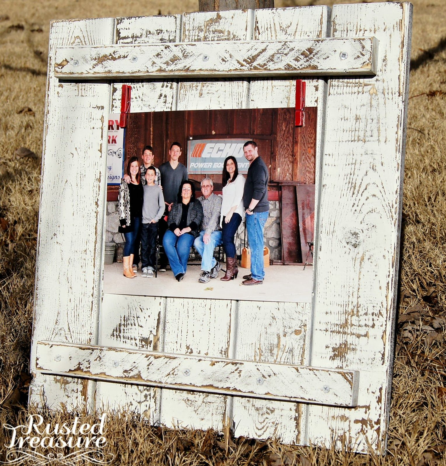 Rusted Treasure: DIY - Barn Wood Frames | Foto album | Pinterest ...