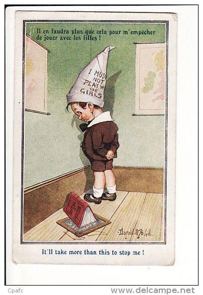bonnet d'ane | École d autrefois, École vintage, Image pour enfant