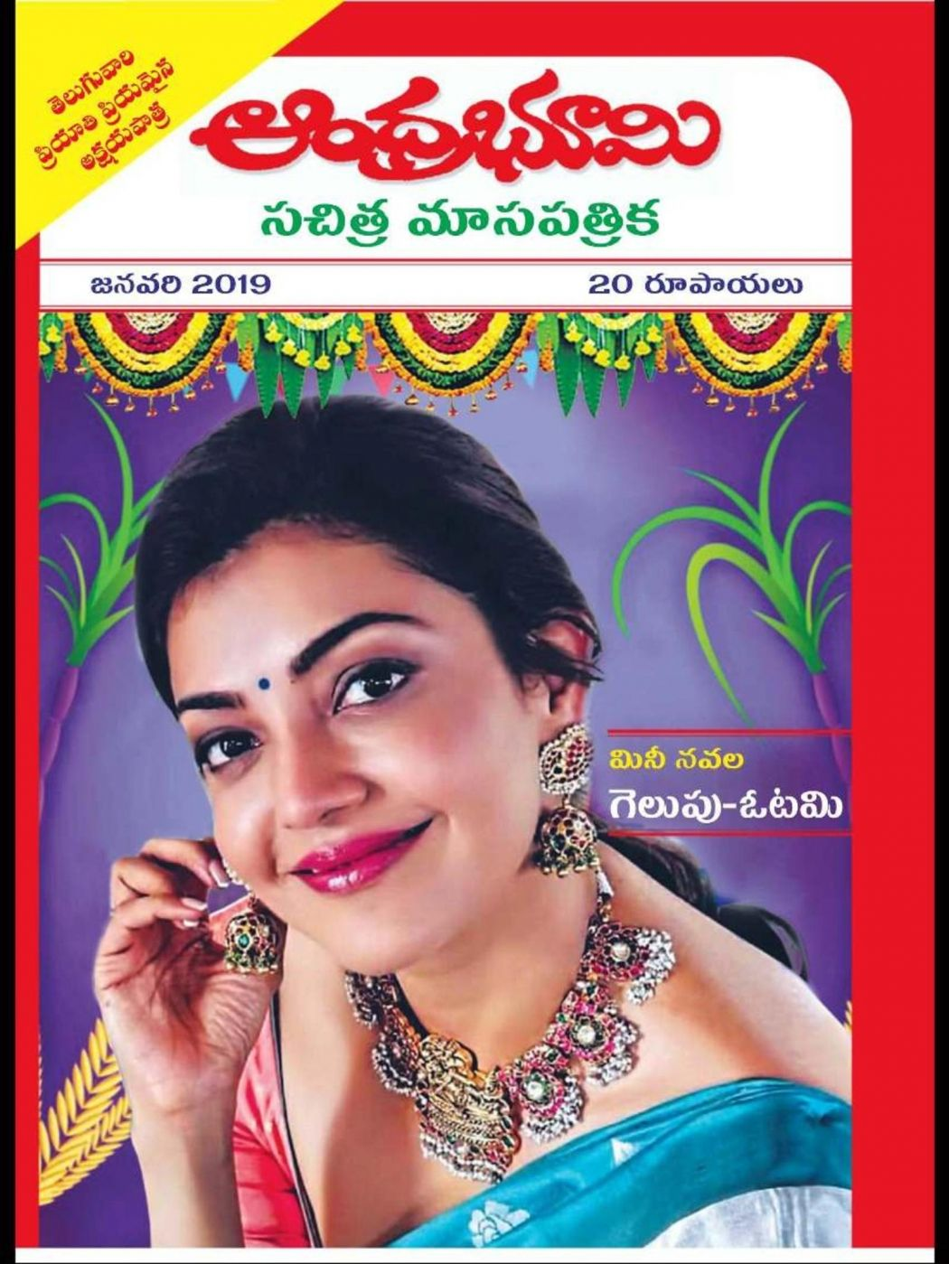 AndhraBhoomi Monthly Jan 2019 Months, E magazine, Photo