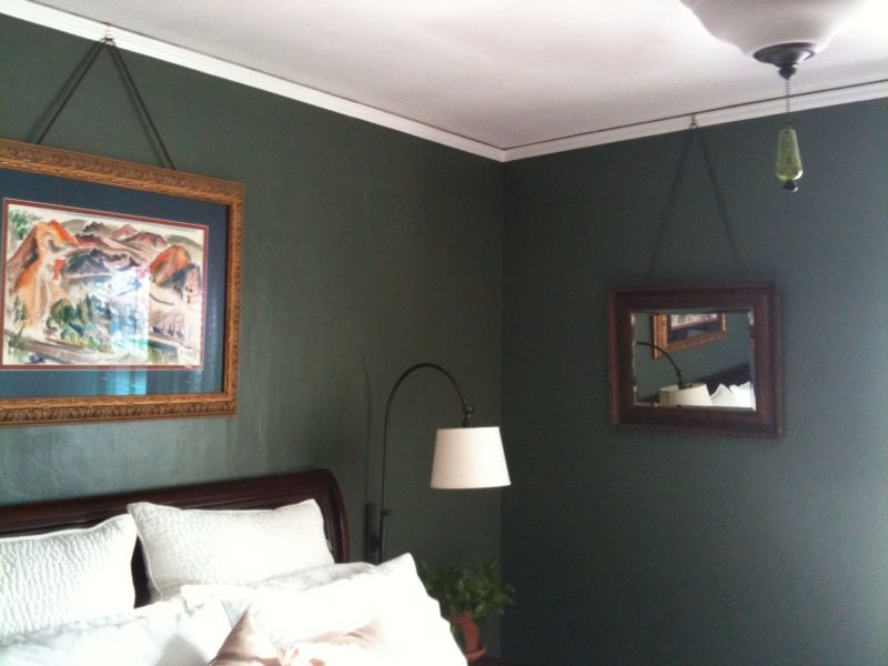 Hanging Pictures From Crown Molding Early Late 1800 S Style