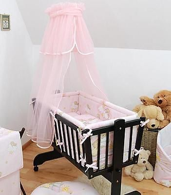 Baby Canopy Holder For Rocking Crib Swinging Crib Moses Basket Pink View More On The Link Http Www Zeppy Io P Crib Swing Baby Canopy Crib Canopy