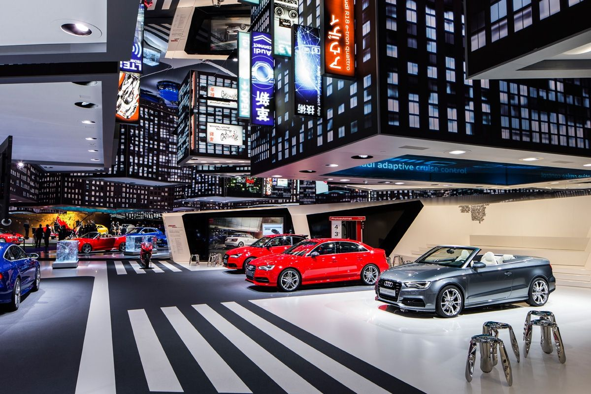 Automobile Trends In Frankfurt Exhibition Booth Design Exhibition Stand Design Exhibition Design