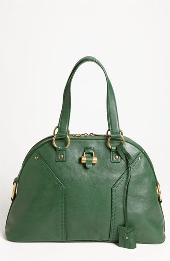 82dcb6a4ea Yves Saint Laurent  Muse - Large  Leather Dome Satchel available at   Nordstrom