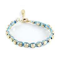 Sparkle Stackable Bracelet #Ettika #Glitter #Metallic #Blue #Gold #Studs #Stacks #Jewelry #Love #Fashion