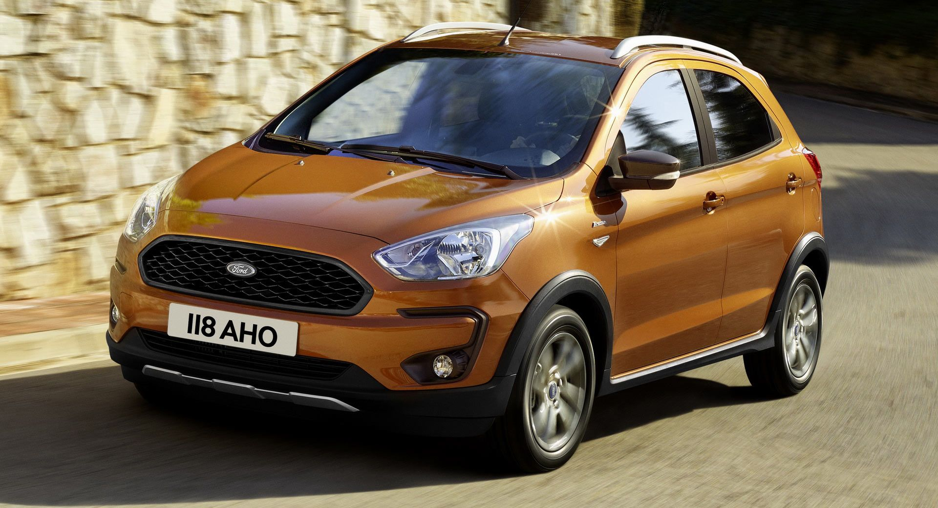 Ford Presents New Suv Styled Ka Active With More Ground Clearance New Suv Ford New Cars