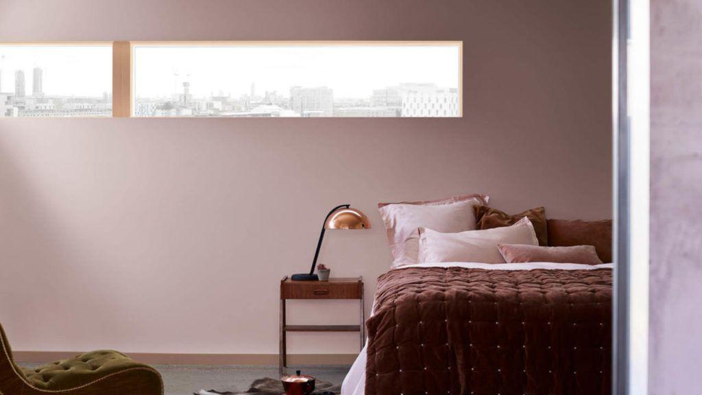 Slaapkamer Bruin Roze : Kleur van het jaar heart wood slaapkamer