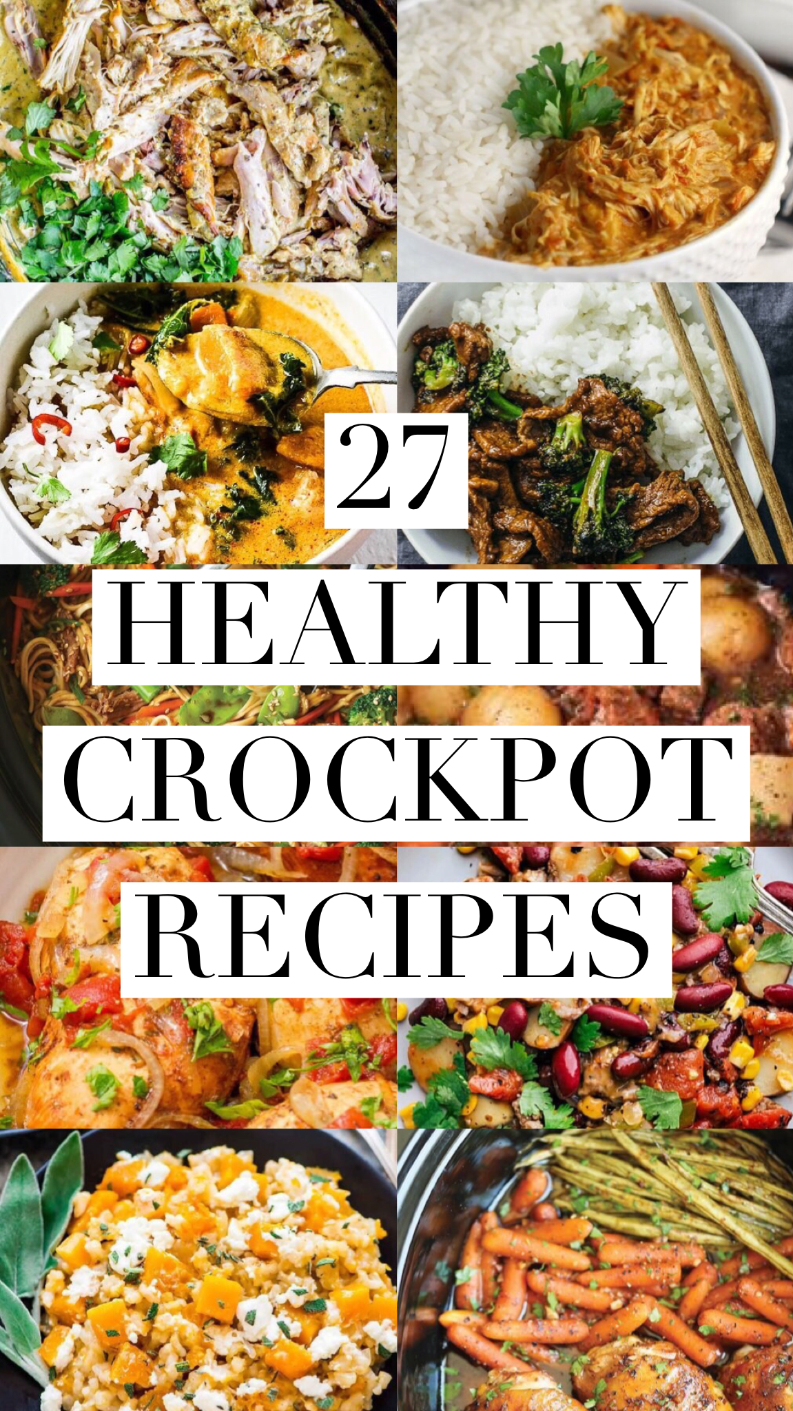 Photo of 25 Healthy Crockpot Easy Recipes – Clean Eating – Recipes Destination