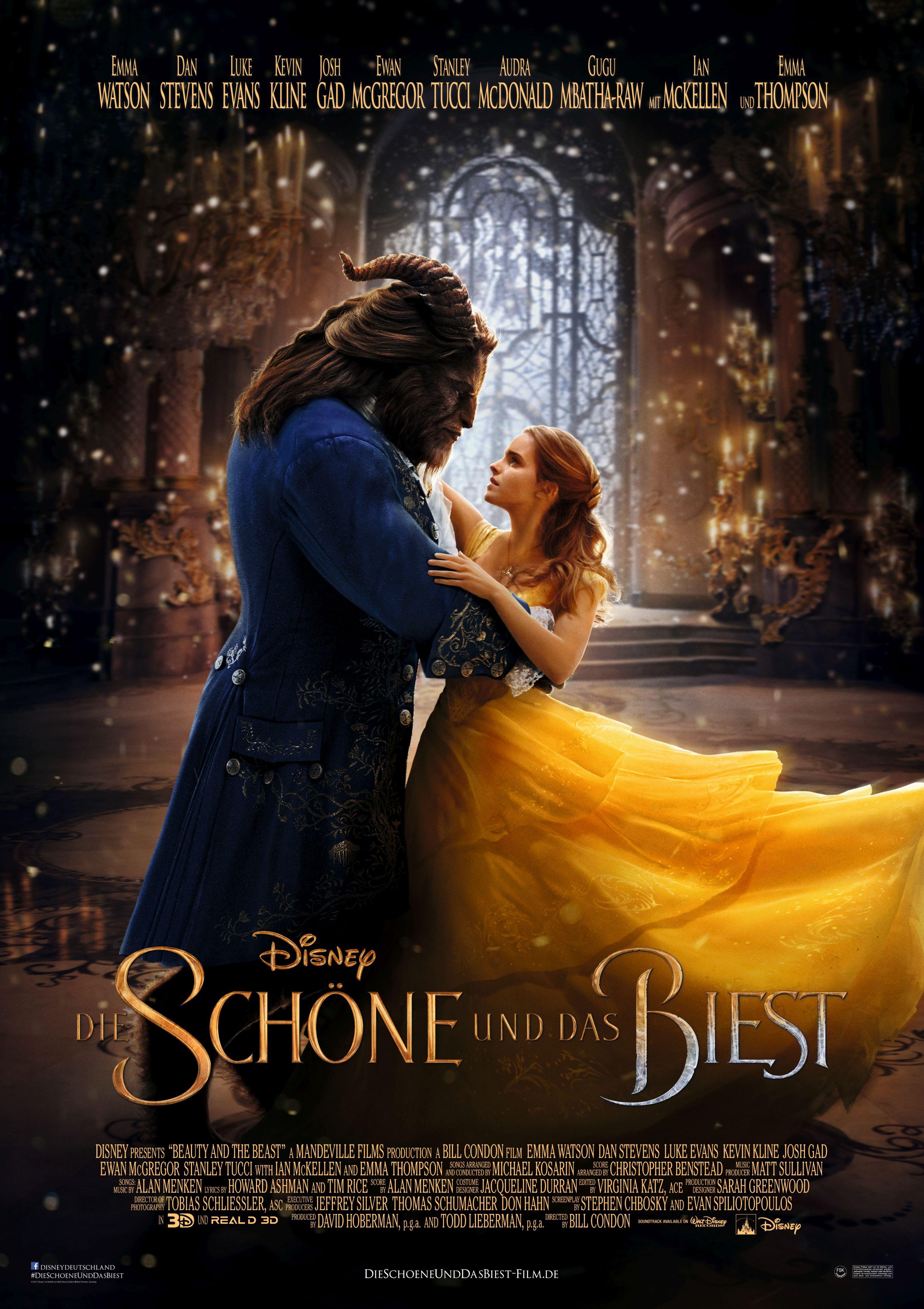 Die Schone Und Das Biest 2017 Fantasy Musical Fsk 6 Walt Disney Beauty And The Beast Movie The Beast Movie Beauty And The Beast