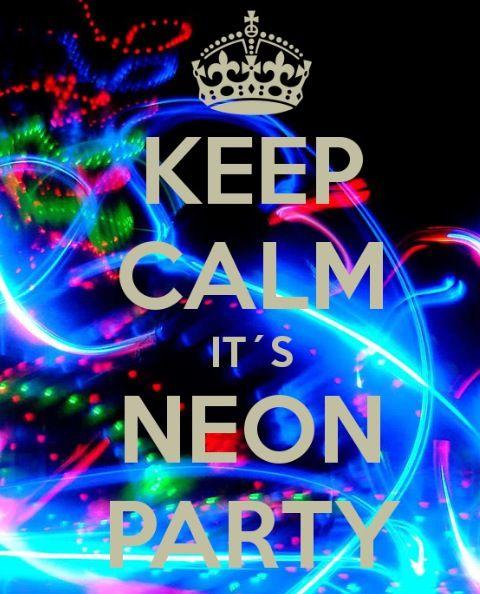 Neon Party Fiestas De Cumpleaños De Neón Fiesta Con