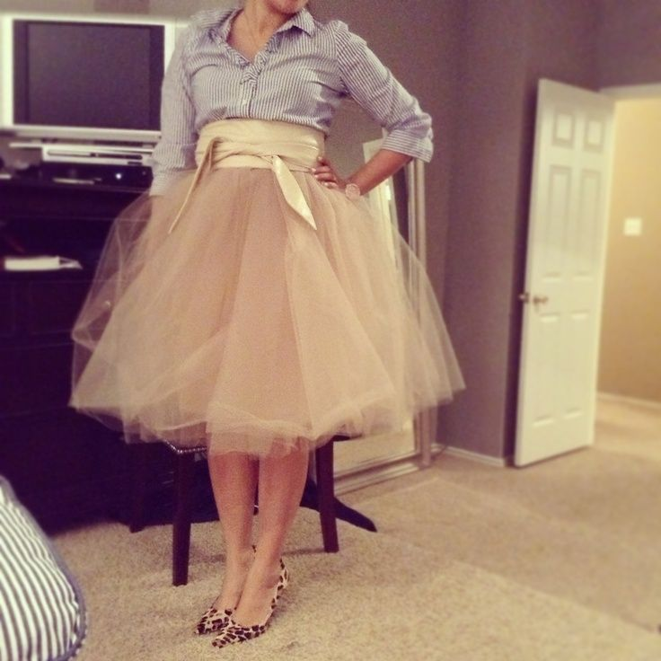 How To Make A Tulle Skirt For Adults