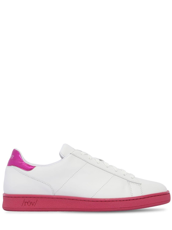 coloured sole sneakers - White Rov uFJqxT7E