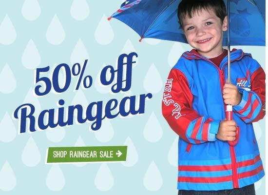 50% all raincoats for kids at www.bestdressedkids.com | Kids ...