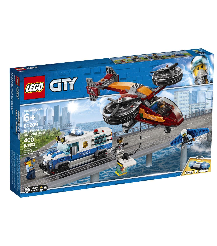 Lego City Sky Police Diamond Heist Set Lego City Lego City Police Lego City Police Sets