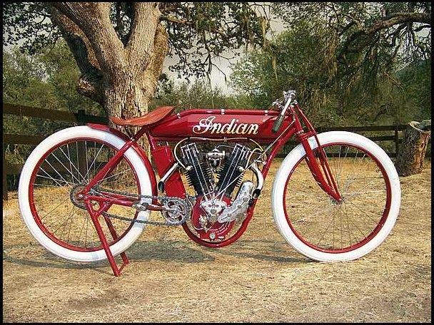 1913 Indian Boardtrack Racer Motorcycle For Sale By Mecum Auction