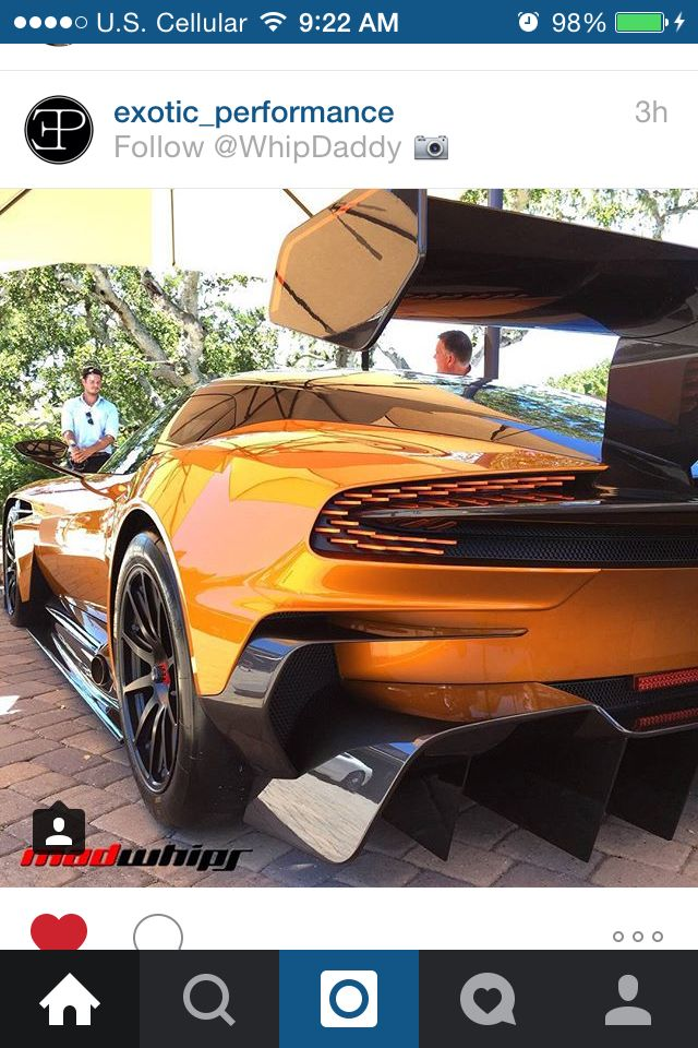 The Aston Martin Vulcan!