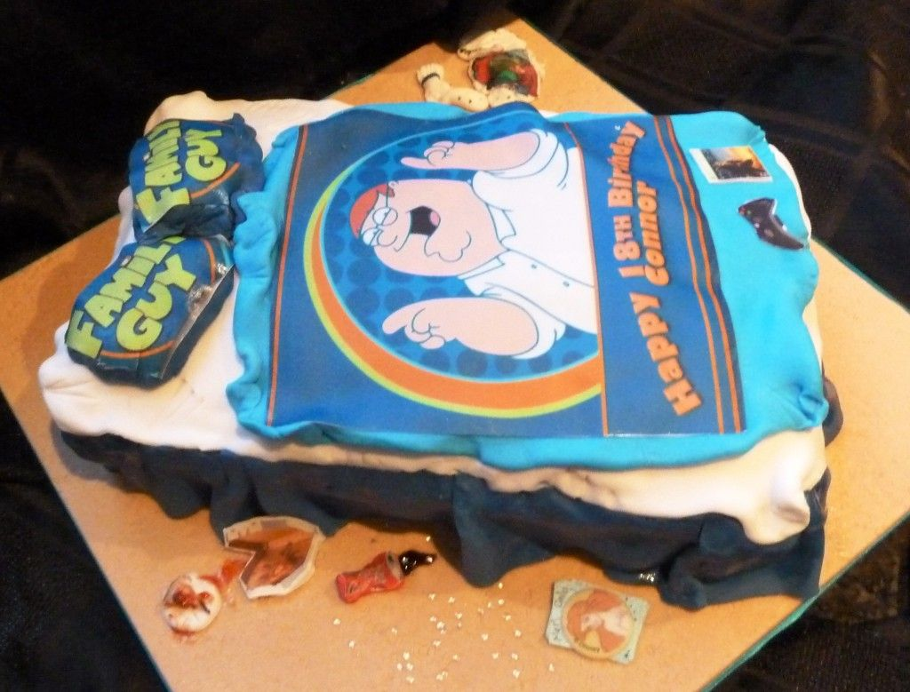 I Made This Birthday Cake For An Th Birthday Based On A Picture - Birthday cake for a guy