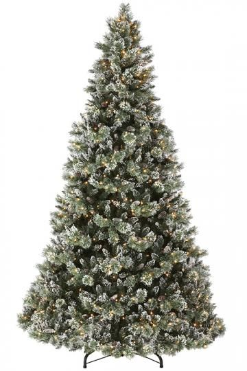 Martha Stewart Living Glistening Pine 9 Pre Lit Artificial Tree