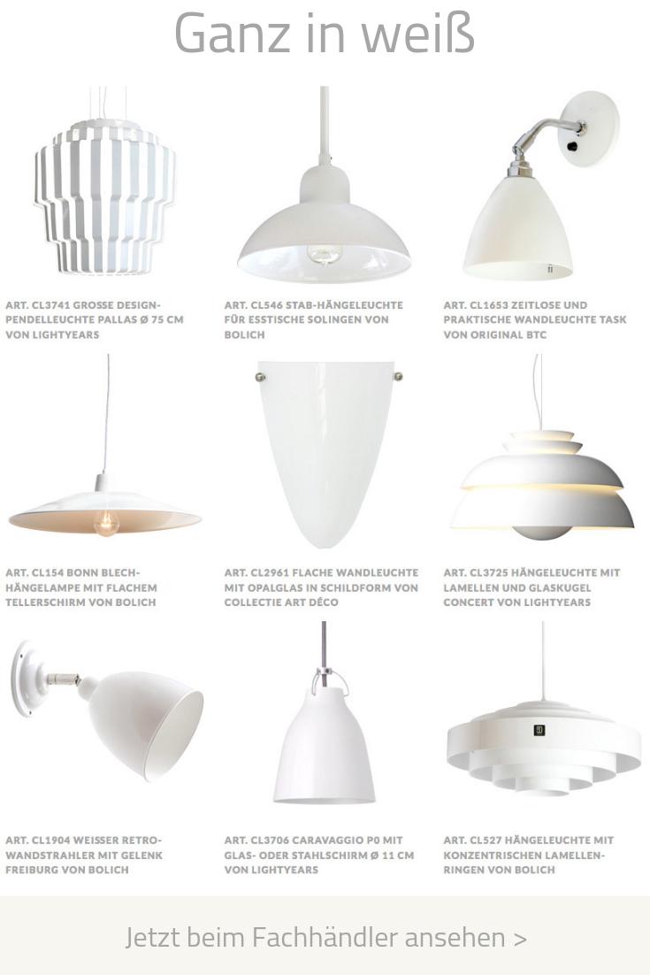Weisse Hangeleuchten Und Wandlampen Hangeleuchte Leuchten Lampe