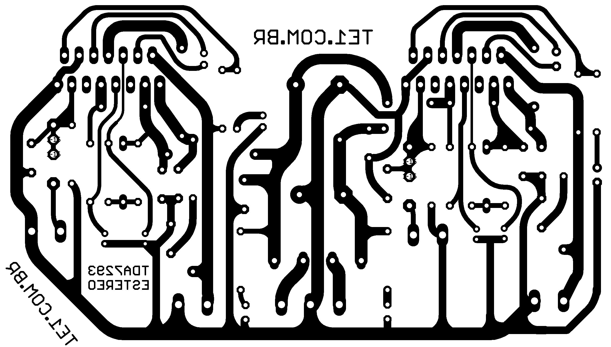 amplificador tda7293 estereo potencia placa 700x398 Amplificador de ...
