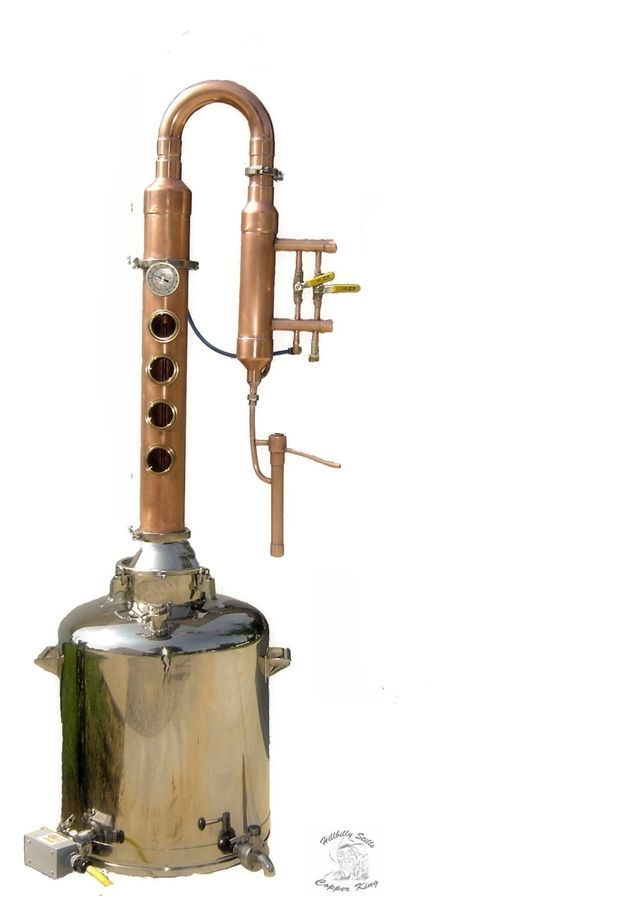 Copper Turn Key Home Distillery System with HS5500 ...