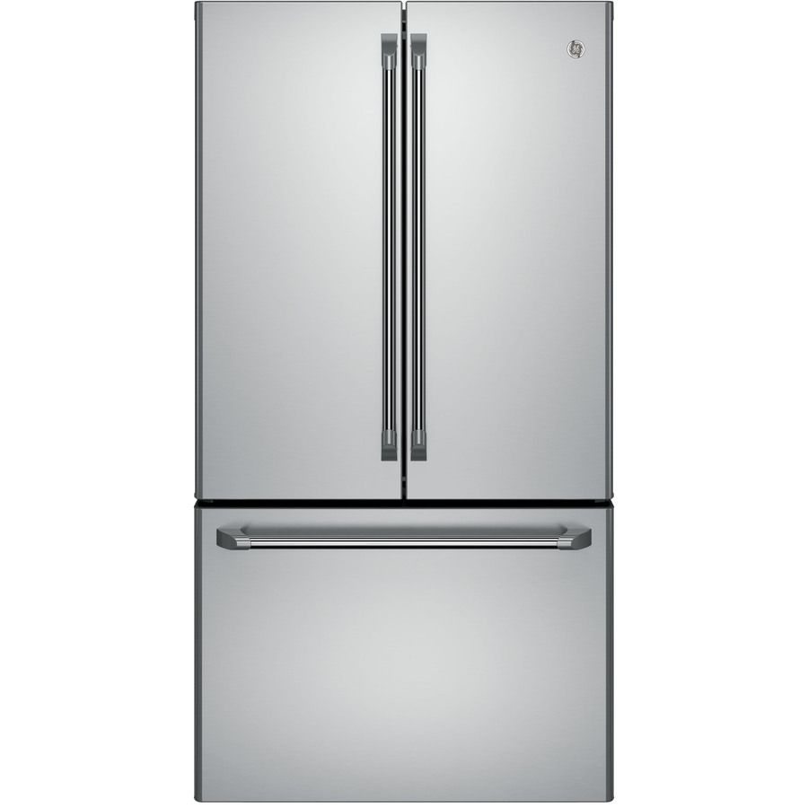 Ge Cafe 231 Cu Ft Counter Depth French Door Refrigerator With
