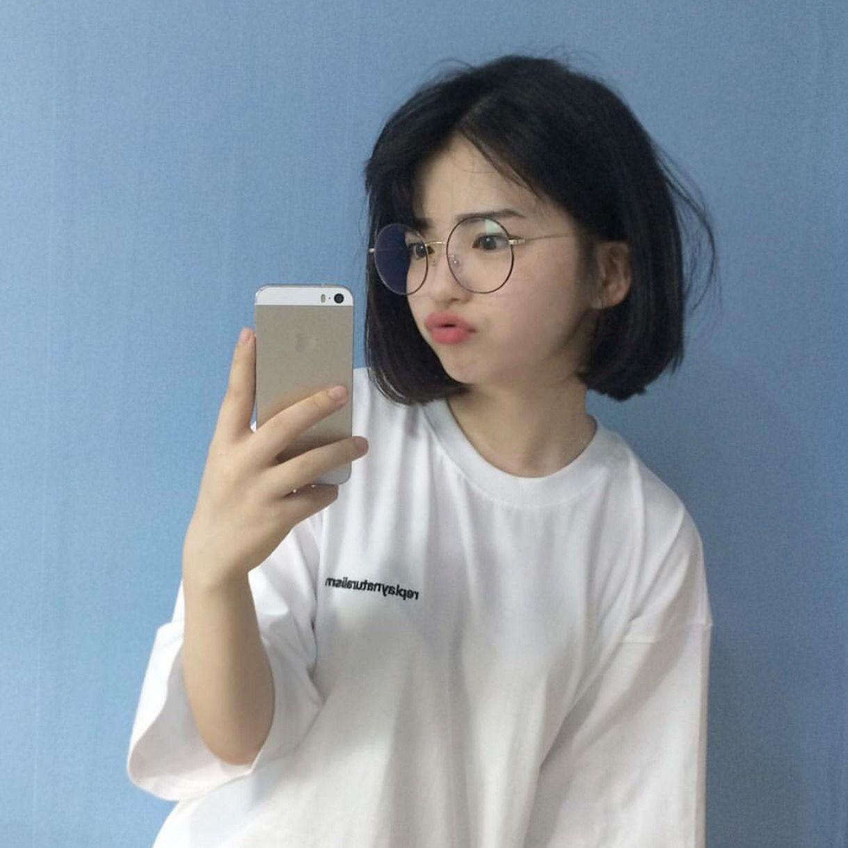 Pinterest Celeshtial Ulzzang Short Hair Korean Short Hair Girl Short Hair