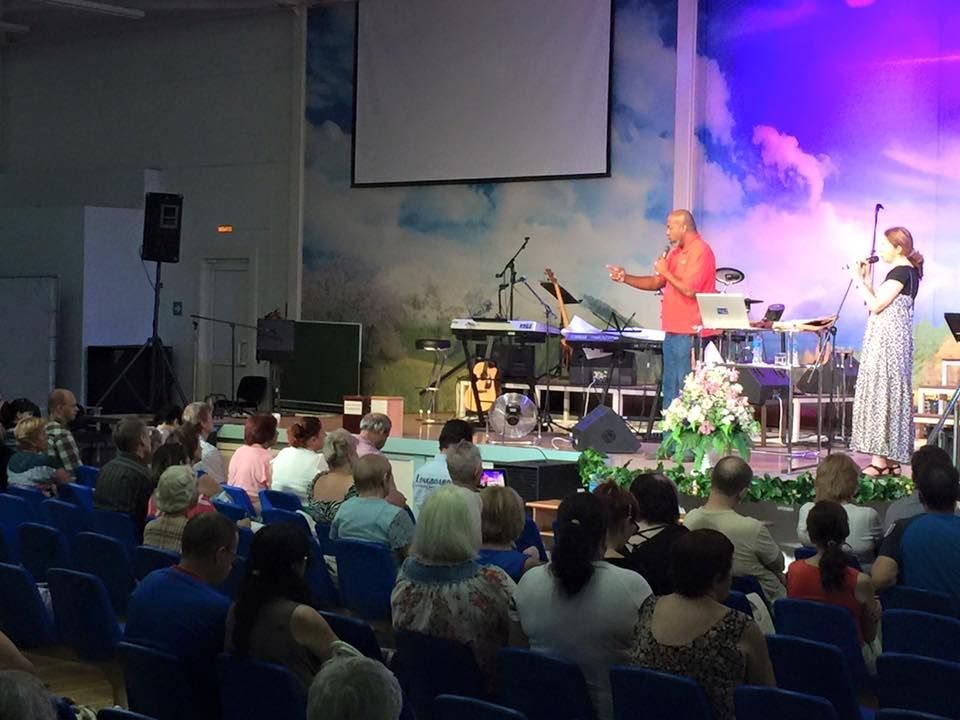 Awesome evening service! 9.3.15