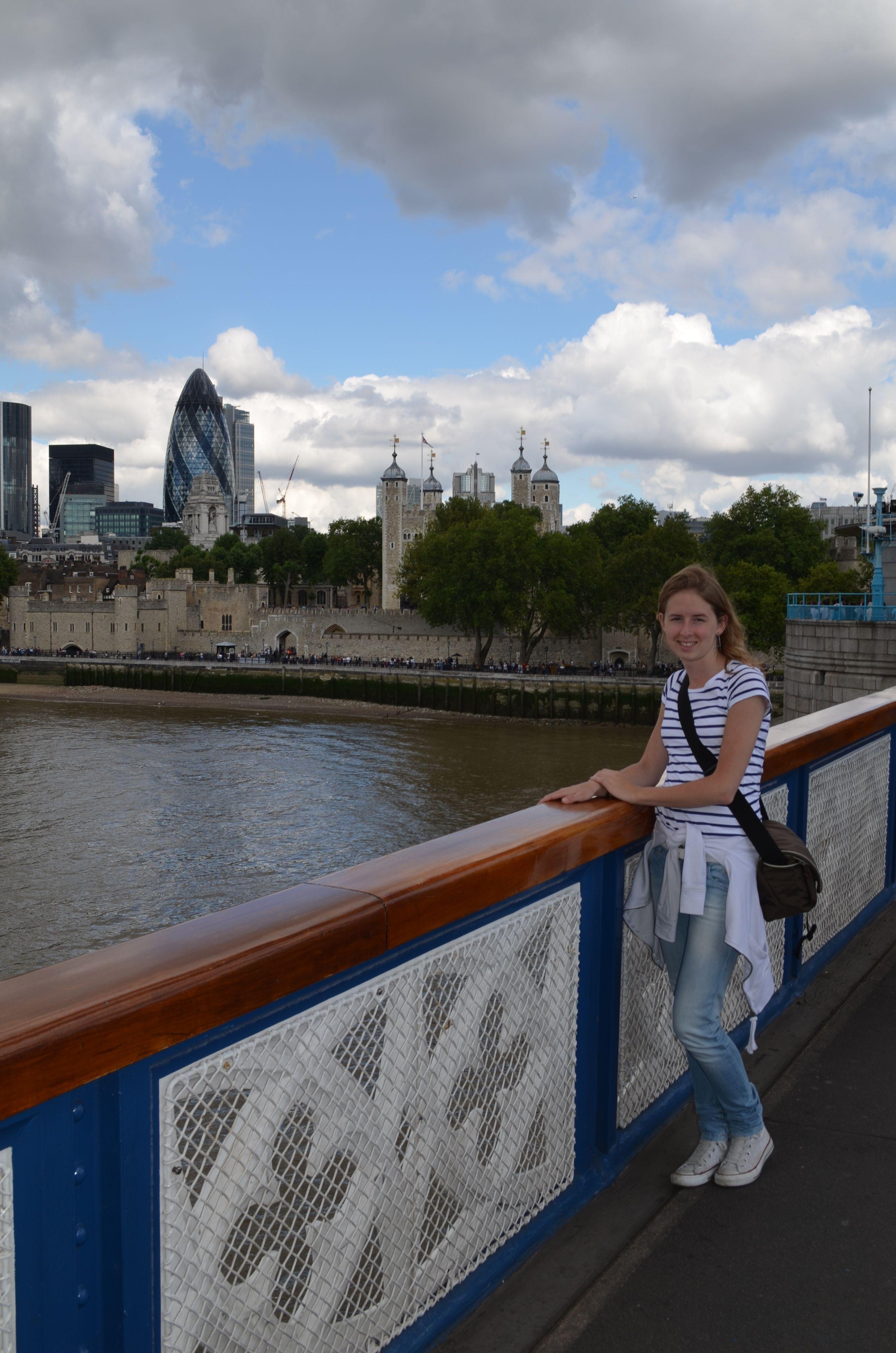 Ik was in Londen, het bewijs!