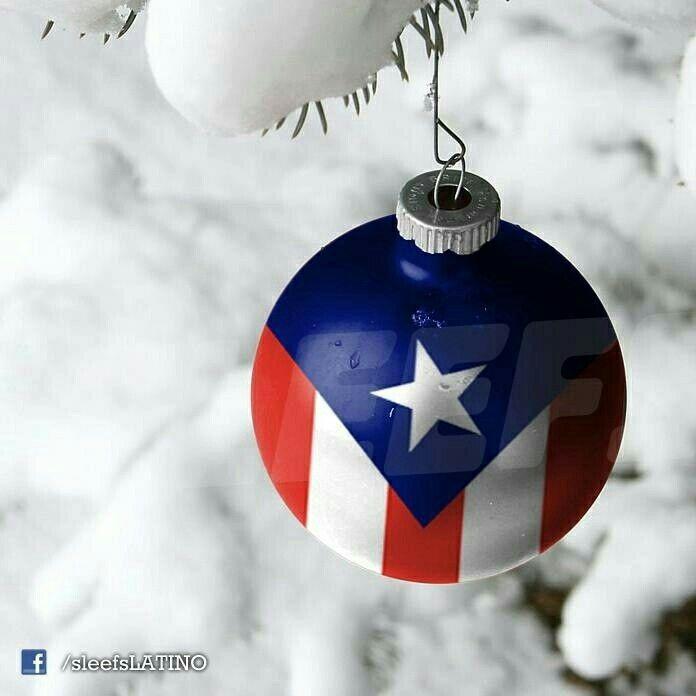 Puerto Rican flag christmas ornament! - Puerto Rican Flag Christmas Ornament! Christmas/navidad Puerto