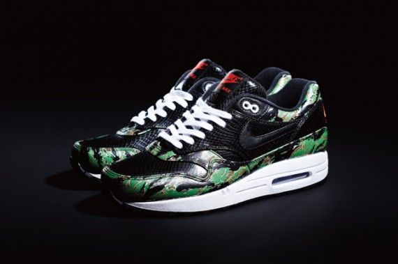 atmos x Nike Air Max 1 Camo Animal Pack | Nike air max