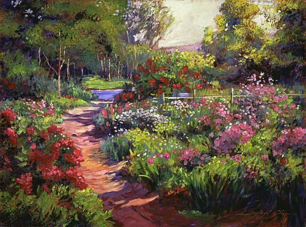 Countryside Gardens Art World Art Country Gardening