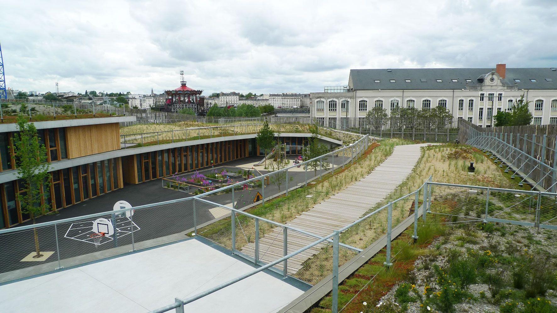 Collectivit s jardin urbain bronze nantes m tropole pour for Jardin urbain moderne