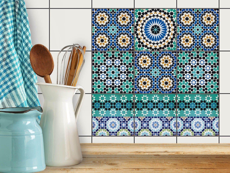 Stickers Carrelage Salle De Bain Mosaique ~ mosa que murale autocollant sticker carrelage rangement chambre